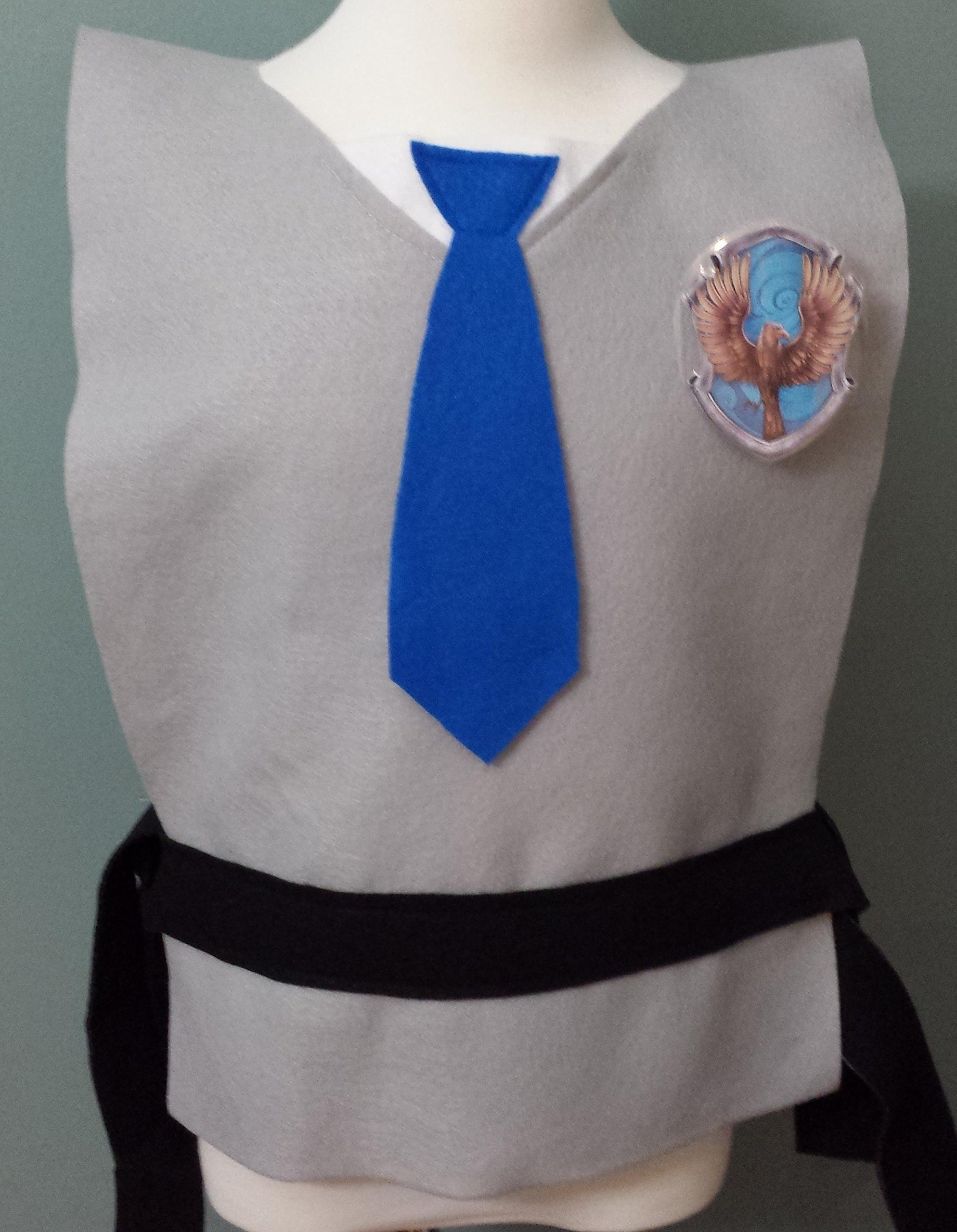 Kids Ravenclaw Costume Tunic - Perfect for under your robe! (Harry Potter/Luna Lovegood/Hogwarts) - Baby/Toddler/Kids/Teen/Adult Size