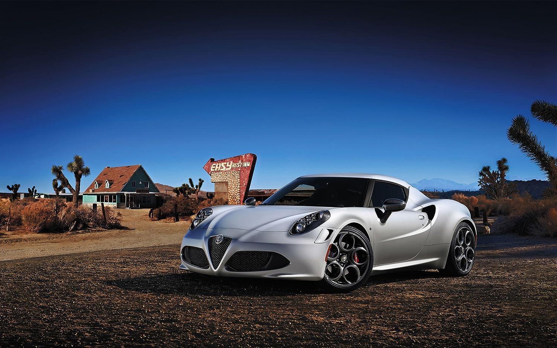 2014 Alfa Romeo 4C Launch Edition 8X10 Photo Poster Banner