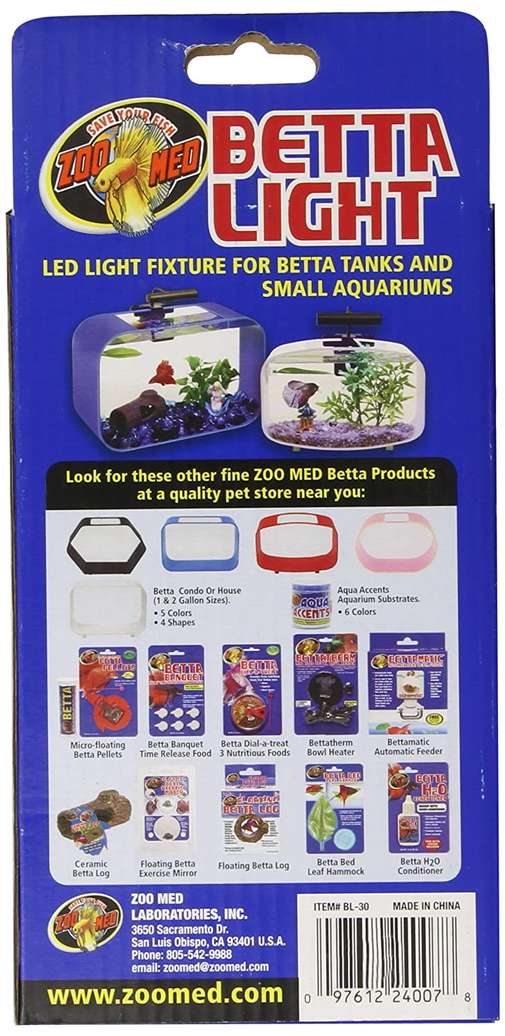 91xtWtKfKPL._SL1500_ amazon com zoo med laboratories azmbl30 betta light for aquarium  at creativeand.co