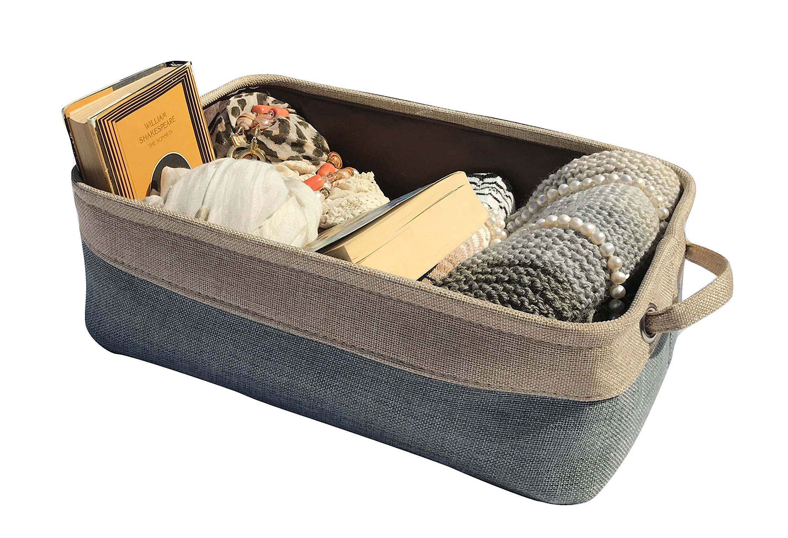 Amazon Com Collapsible Storage Bin Basket 3 Pack