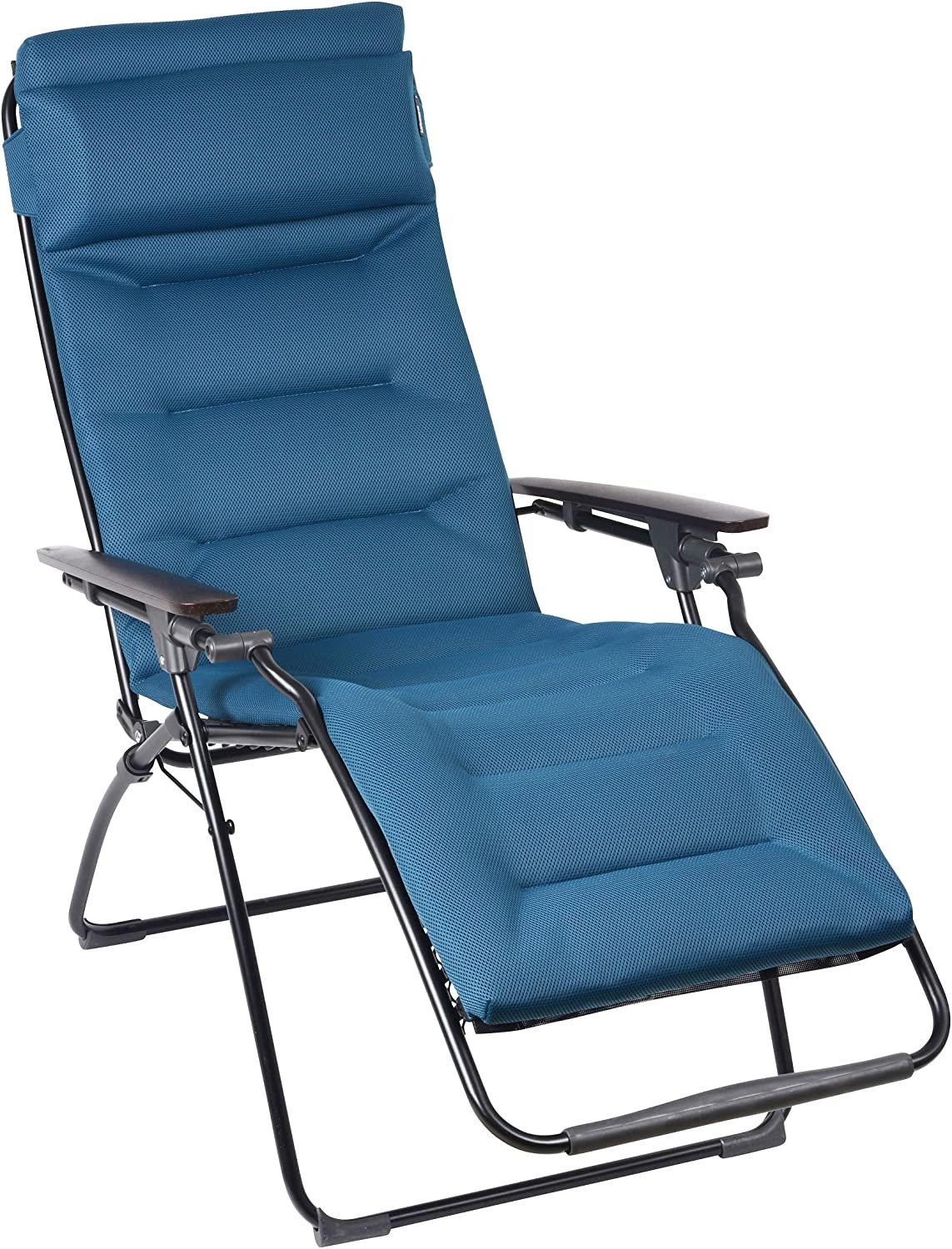 Lafuma Futura Air Comfort Padded Zero Gravity Chair - Coral Blue