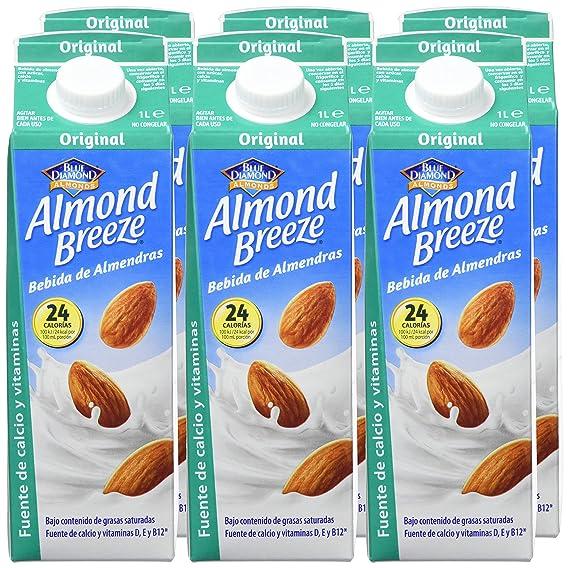 Almond Breeze Bebida de Almendra Original - Paquete de 6 x 1000 ml - Total: 6000 ml: Amazon.es: Amazon Pantry