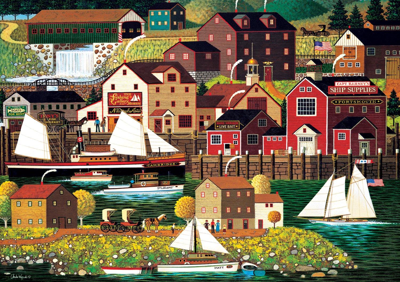 Buffalo Games - Charles Wysocki Americana Collection - The Cambridge - 500 Piece Jigsaw Puzzle