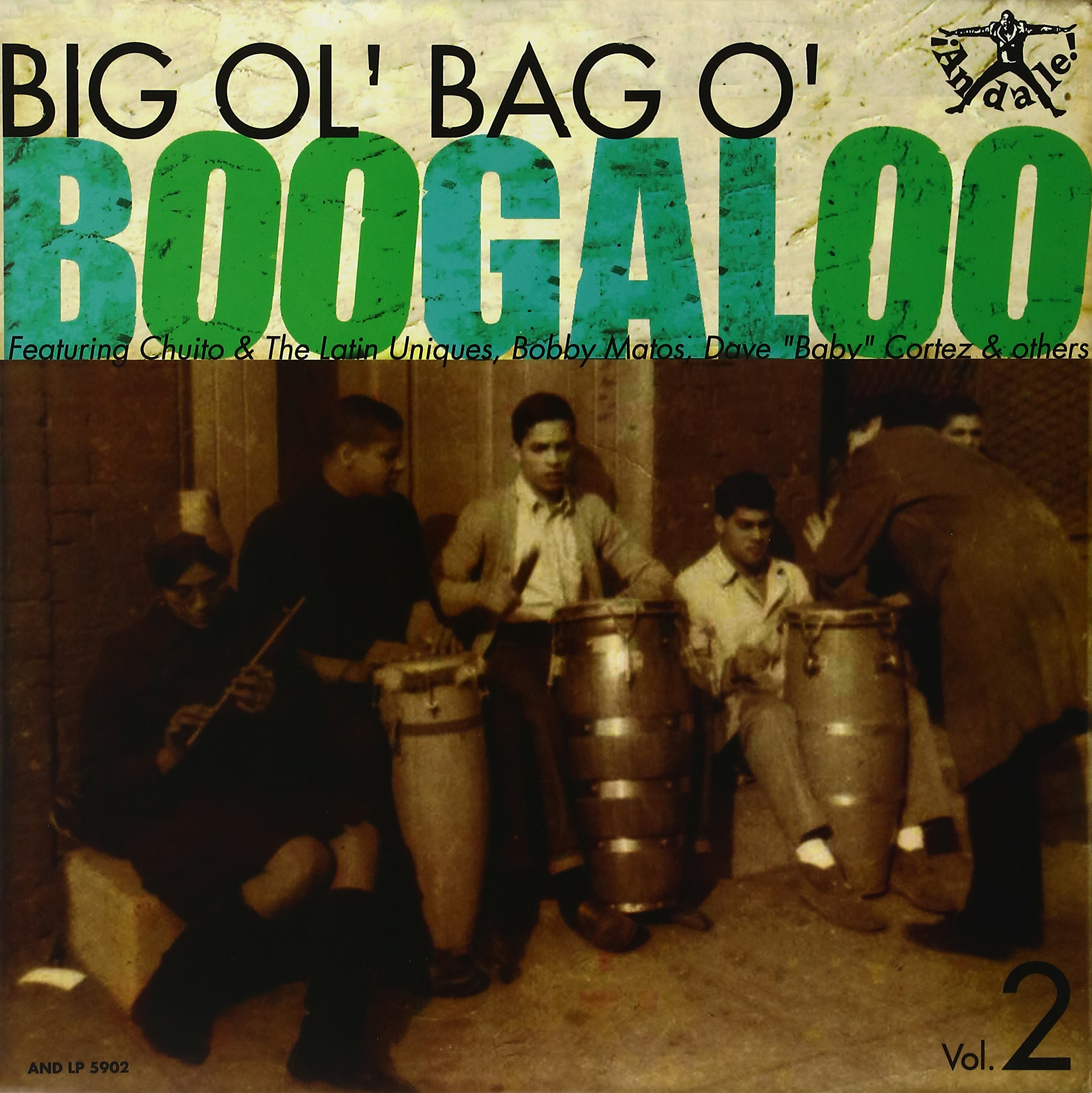 Vinilo : VARIOUS ARTISTS - Big Ol' Bag Of Boogaloo, Vol. 2 (various Artists) (LP Vinyl)