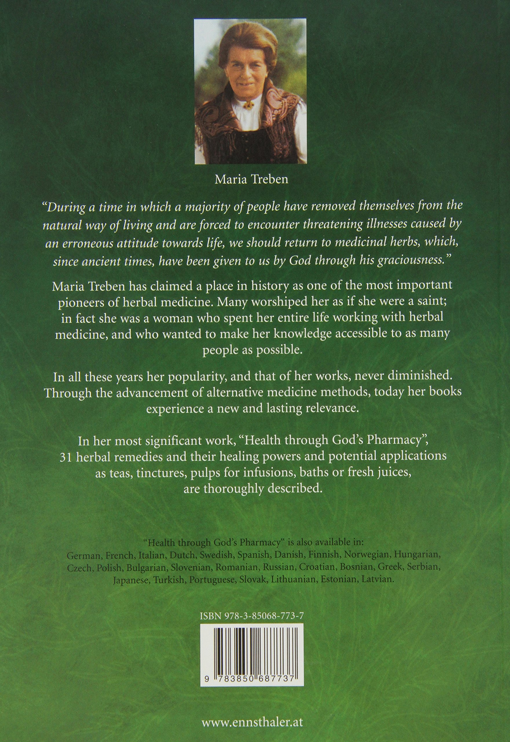 maria treben health through gods pharmacy