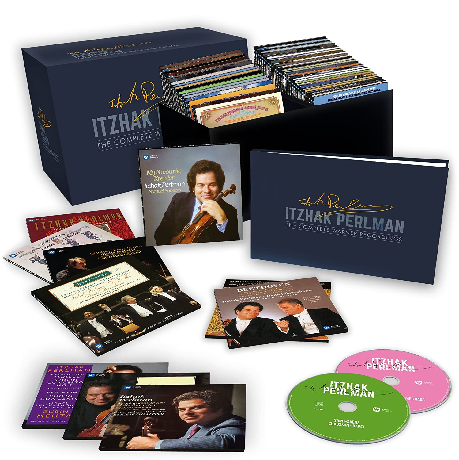 Perlman: The Complete Warner Recordings