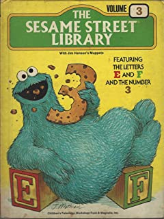 The Sesame Street Library Volume 1 Featuring the Letters A & B