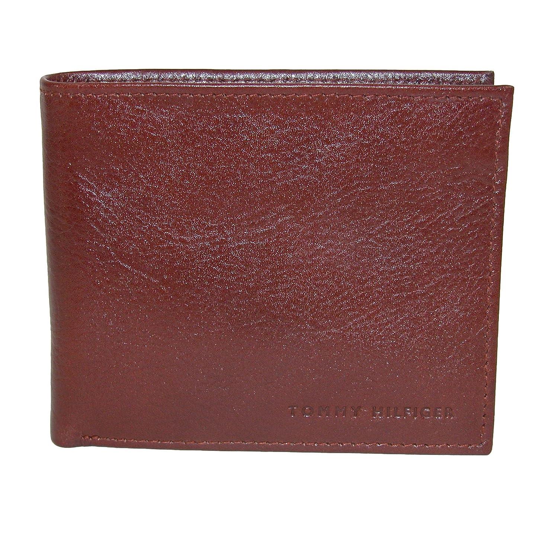 9a8dc1d4c678 Tommy Hilfiger Men's Leather York Passcase Bilfold Wallet