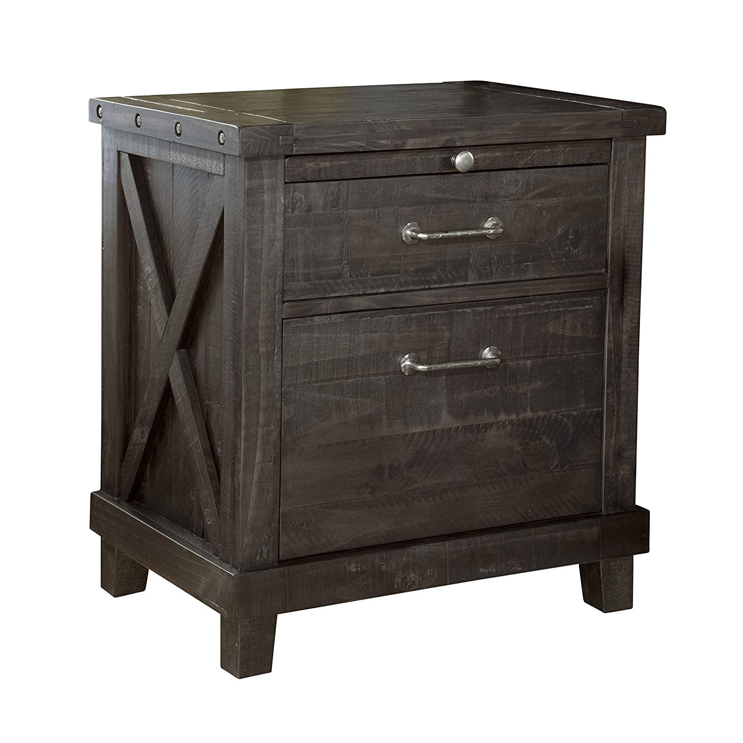 Amazon Modus Furniture 7YC981 Yosemite Solid Wood Nightstand