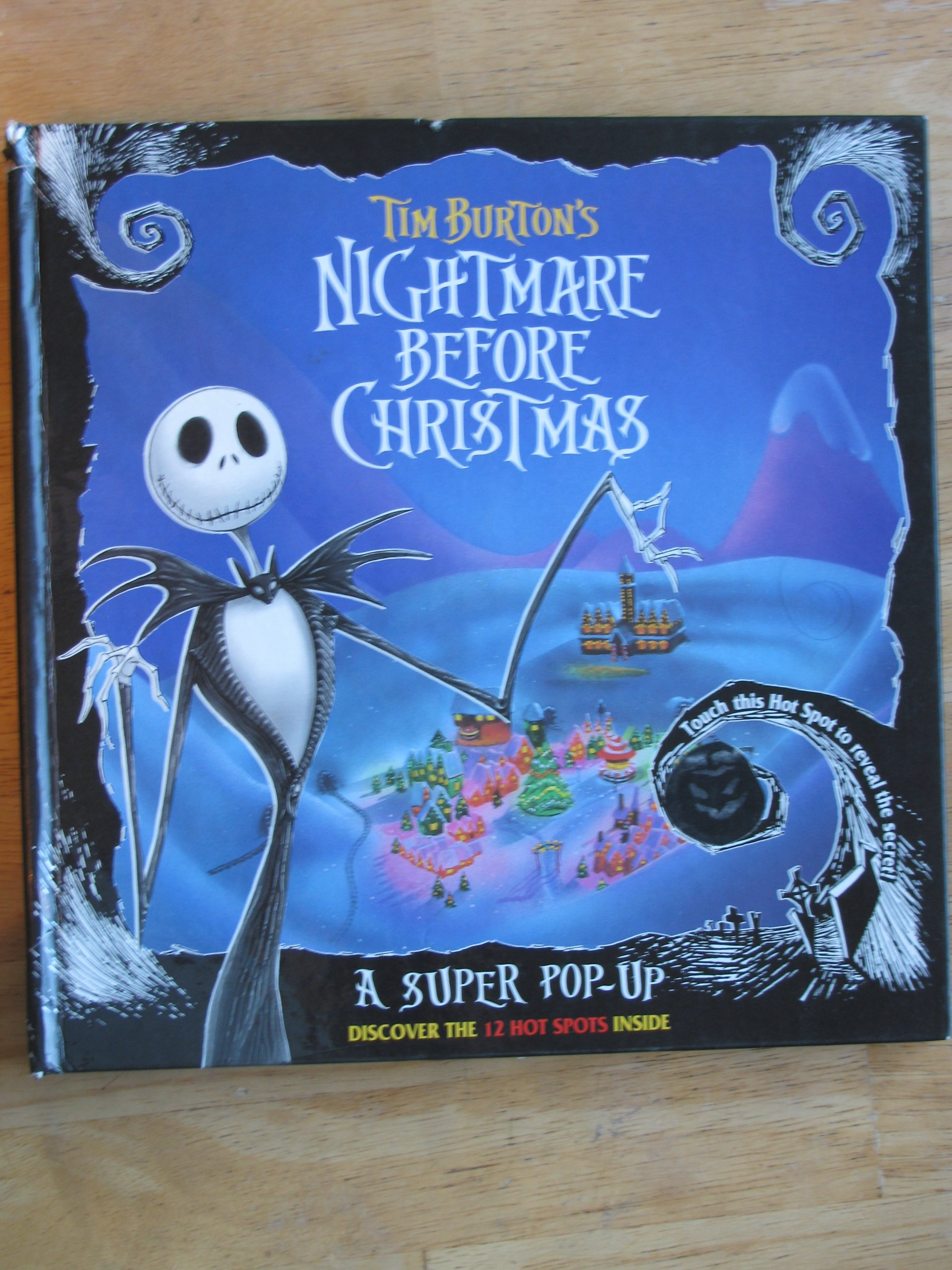 Tim Burton\'s Nightmare Before Christmas: A Super Pop-Up Book: Tim ...