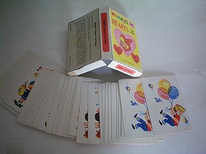 Amazon.com: Vintage – Juego de cartas-Wendy de corazones ...