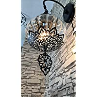 White outdoor/indoor wall lamp, wall sconces