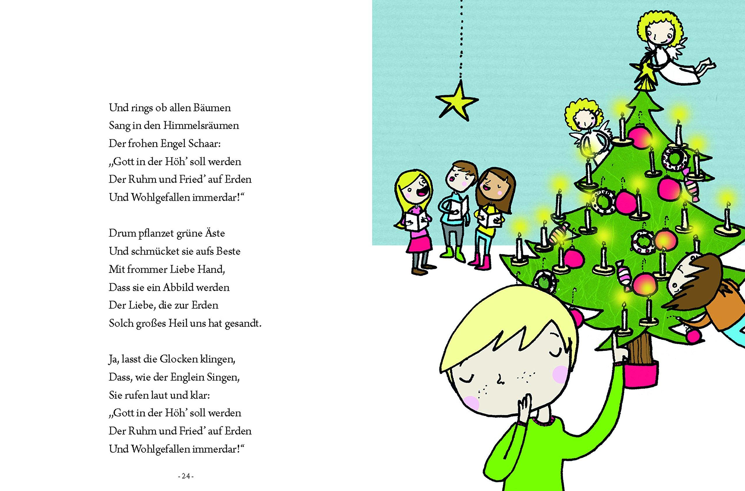 Weihnachtsgedichte Für Kinder Kostenlos.Das Große Kleine Buch Weihnachtsgedichte Für Kinder Amazon De