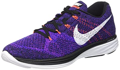 00ebb2faed1c Image Unavailable. Image not available for. Color  Nike Mens Flyknit Lunar3  Running ...