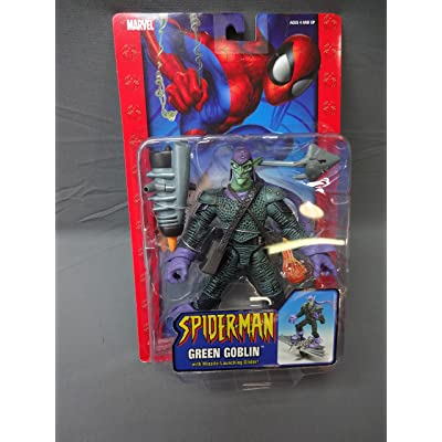 Spider-Man Green Goblin Action Figure: Toys & Games