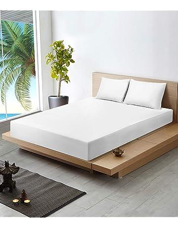 Utopia Bedding Sábana de Algodón Premium con Fundas de Almohada - 300 Cuenta de Hilo -