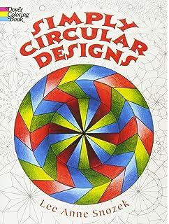 simply circular designs coloring book dover design coloring books - Modern Patterns Coloring Book