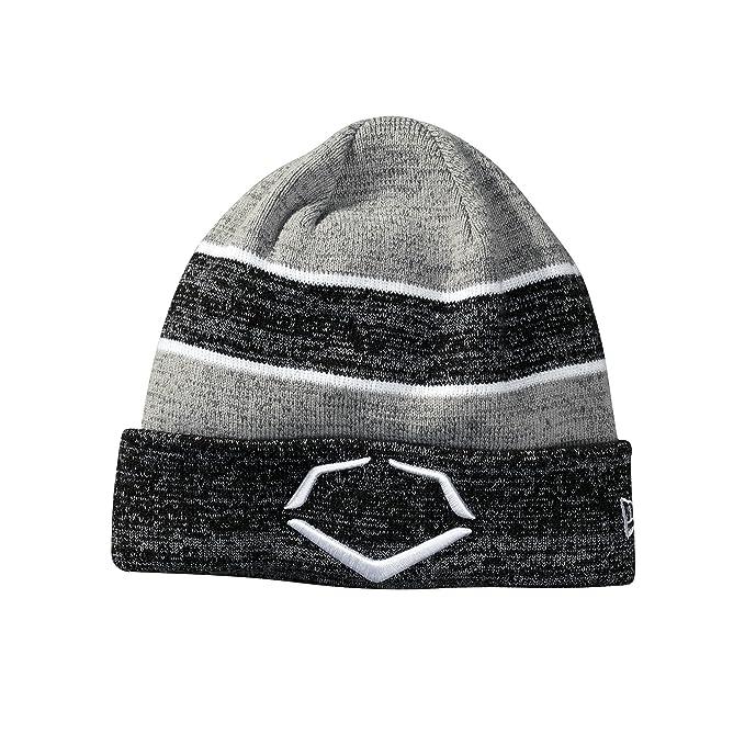 0486f8356d06c2 Amazon.com: EvoShield Knit Hat, Black/White, One Size: Sports & Outdoors