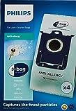 Philips FC8022/04 S-Bag Vacuum Cleaner Bags, Anti-Allergen -