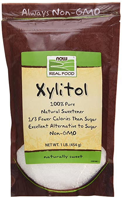 NOW Foods Xylitol Natural Sweetener - 1 lb