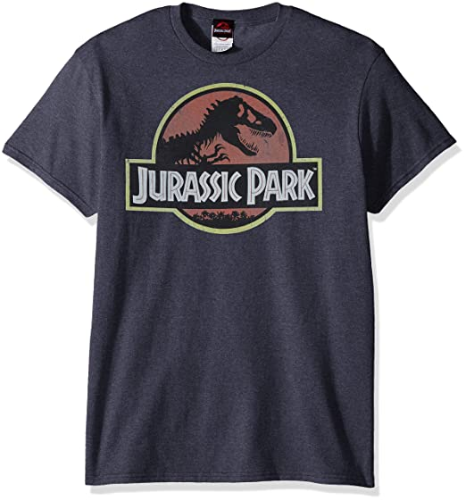 Jurassic Park Logo Men's T Shirt by Jurassic Park