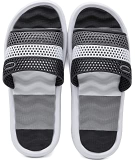 04e6f4966 HAOJIALI Bathroom Slippers Shower Shoes Women and Mens Non-Slip Bath Sandals  House Soft