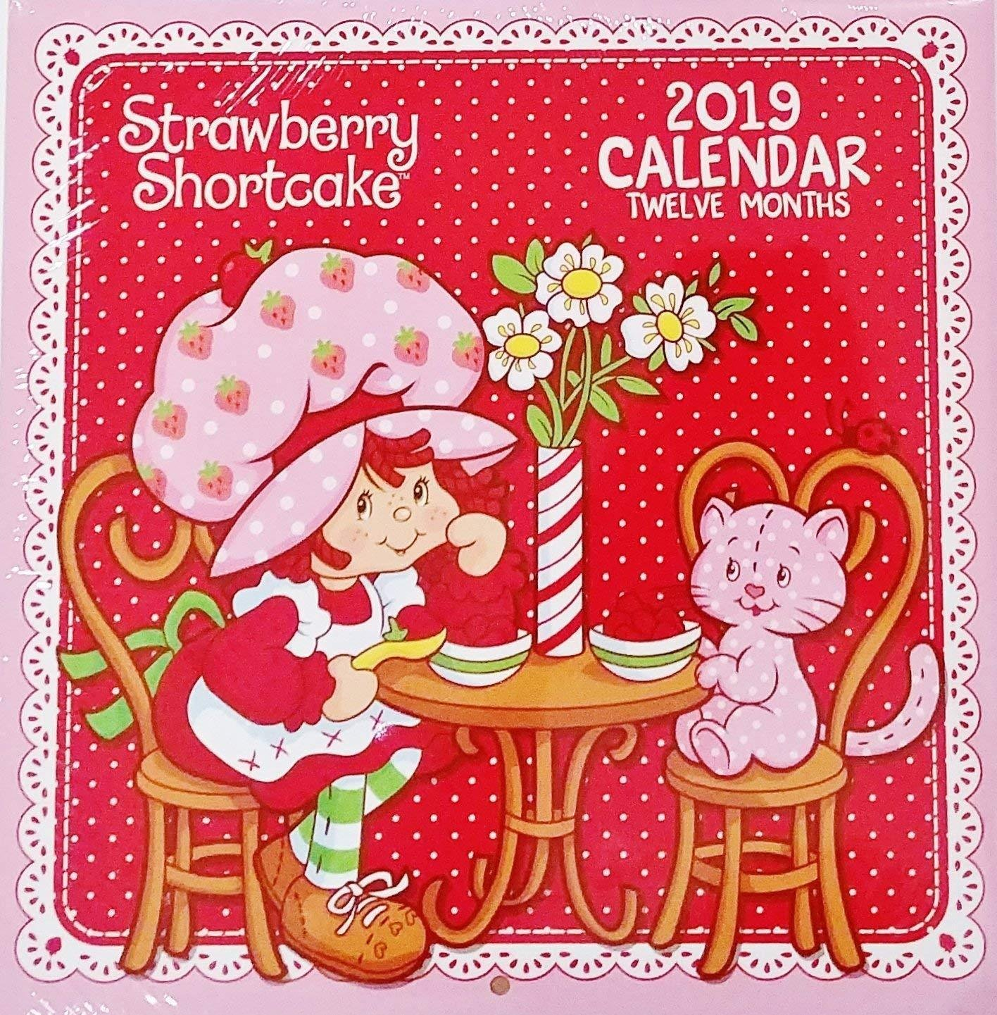 Strawberry Shortcake 2019 Wall Calendar 12 Month New Sealed 10 X 20 Greenbrier International