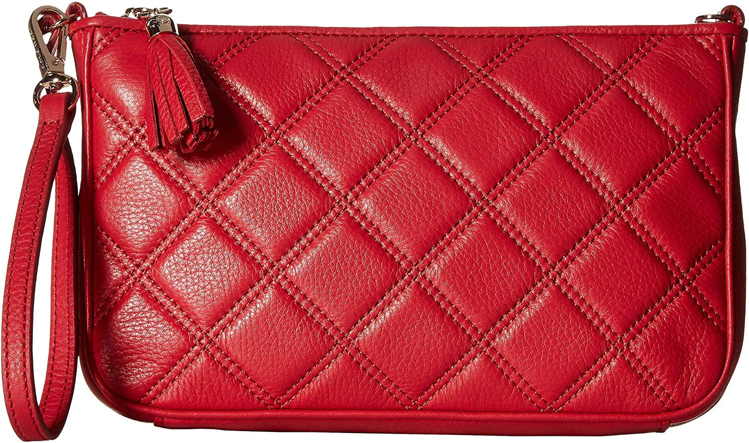 Cole Haan Womens Benson Quilted Demi Wristlet