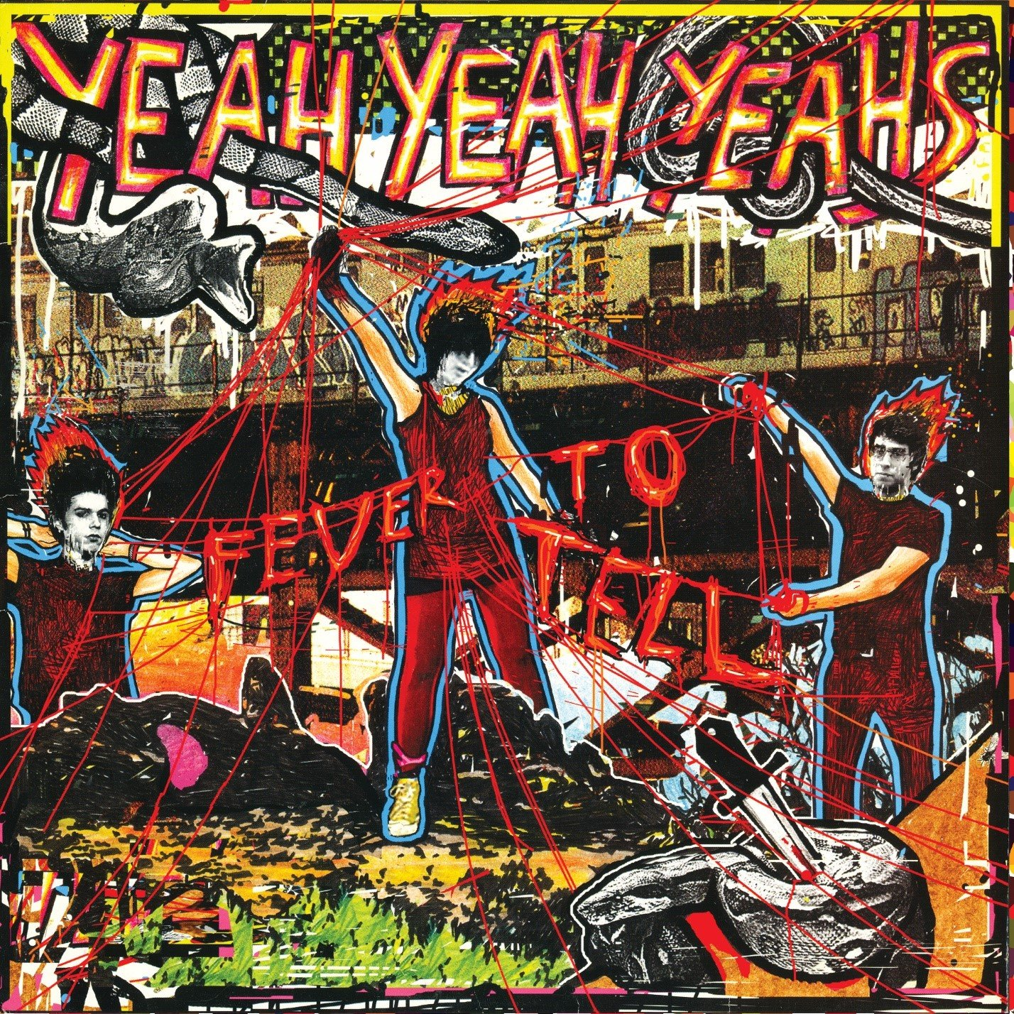 Vinilo : Yeah Yeah Yeahs - Fever To Tell (Limited Edition, Remastered, Deluxe Edition, With Usb, 2PC)