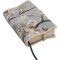 Borda y más Funda Protectora para Libros y agendas. Varios Modelos y Colores Disponibles. (Almendro Azul)