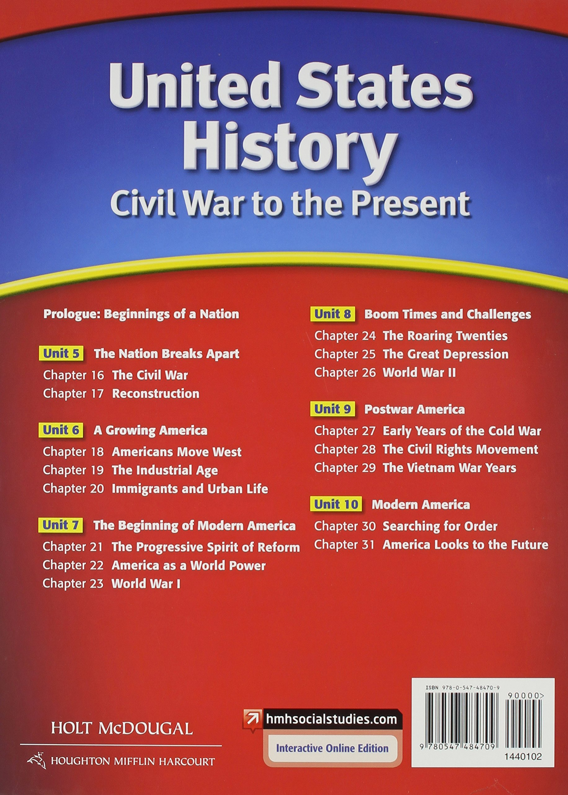 americas history 8th edition chapter 30