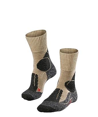 FALKE TK 1 - Calcetines de senderismo para hombre, tamaño 39-41, color