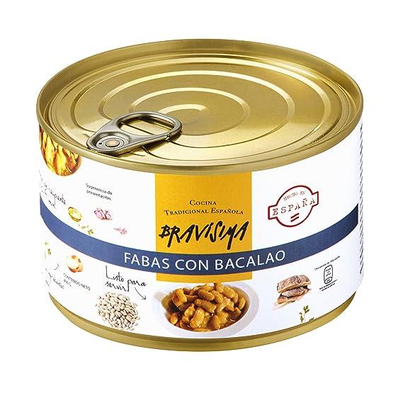 Bravisima Gourmet Fabas con Bacalao