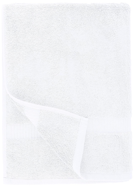 set da 4 pezzi Bianco Pinzon Asciugamani da bagno in tessuto misto cotone biologico