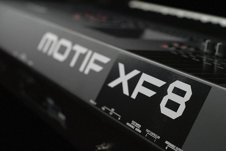 Amazon com: Yamaha Motif XF8 Music Production Synthesizer: Musical