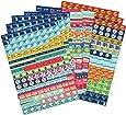 Boxclever Press un set extra di adesivi promemoria per calendario e agenda. 1.152 adesivi per organiser. Coloratissimi auto adesivi per planner per progettare attività, eventi, e impegni domestici