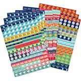 Boxclever Press Bumper Pack of Calendar and Diary Reminder Stickers. 1,152 Organiser Stickers.Self Adhesive for Planning Activities and Events OR School Themed Pack-General Planning & Activity Themed