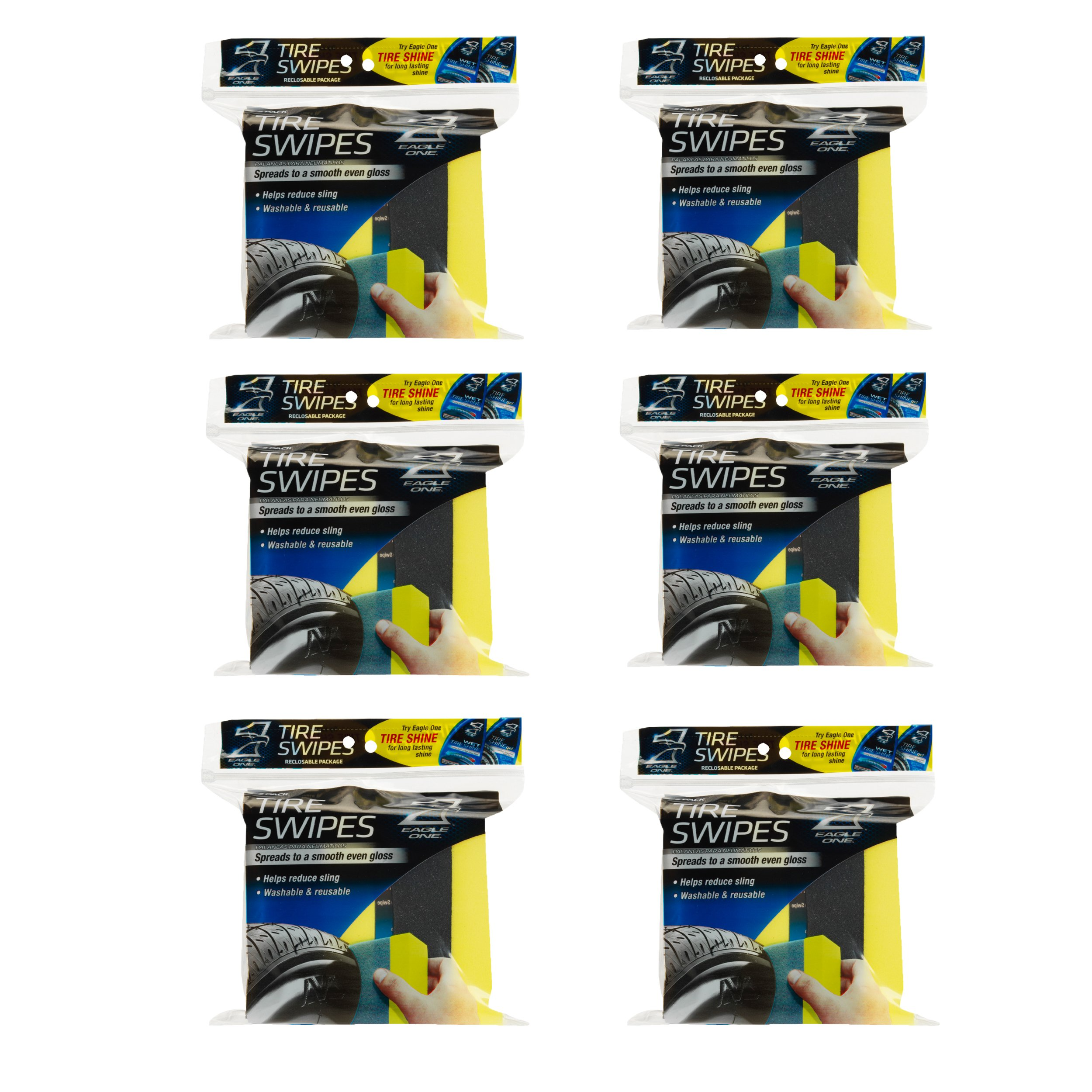 Eagle One 5010602-6PK Tire Swipe - 2 Count, Pack of 6