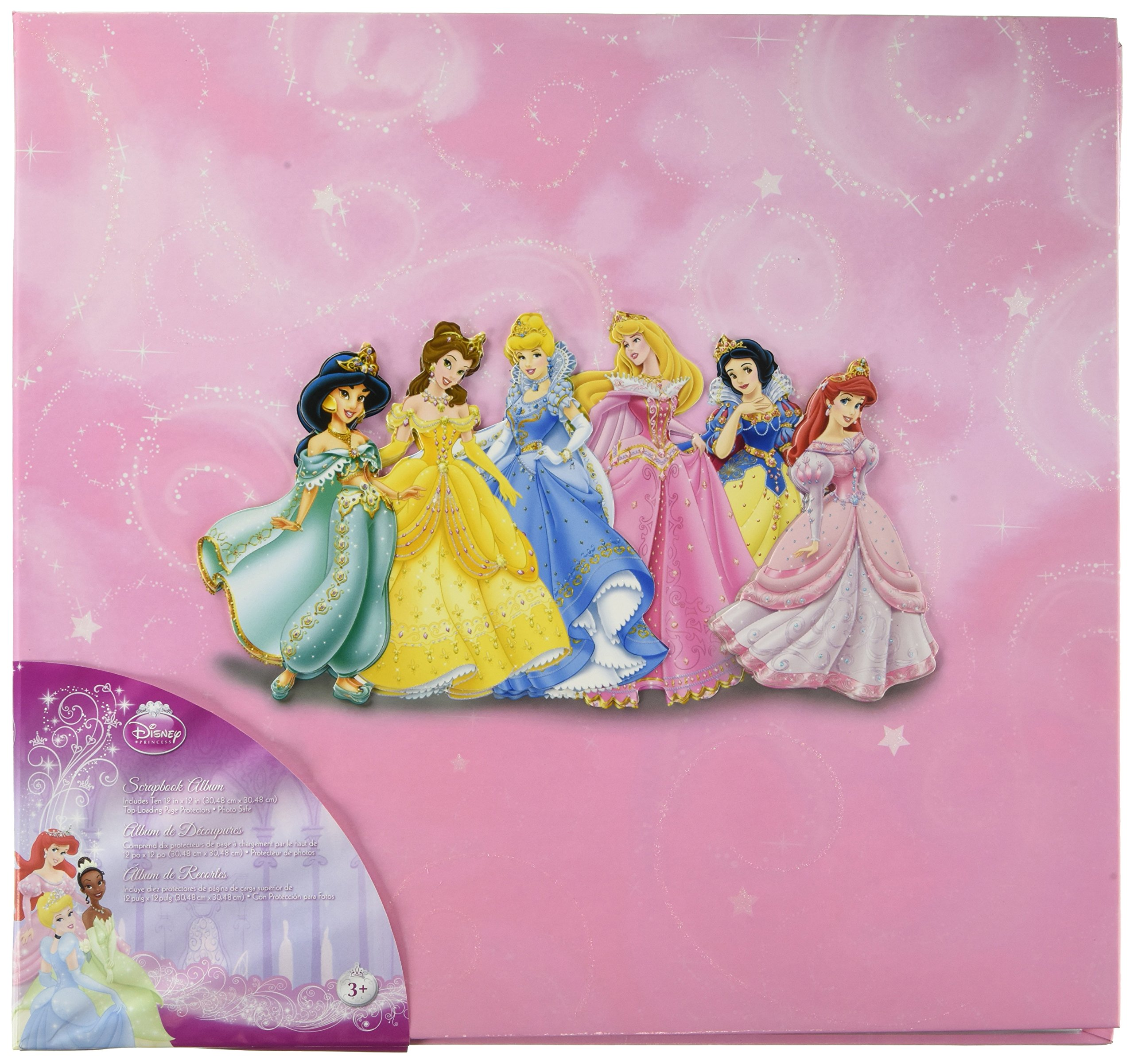 EK Success 12-Inch-by-12-Inch Princess Jewel Album