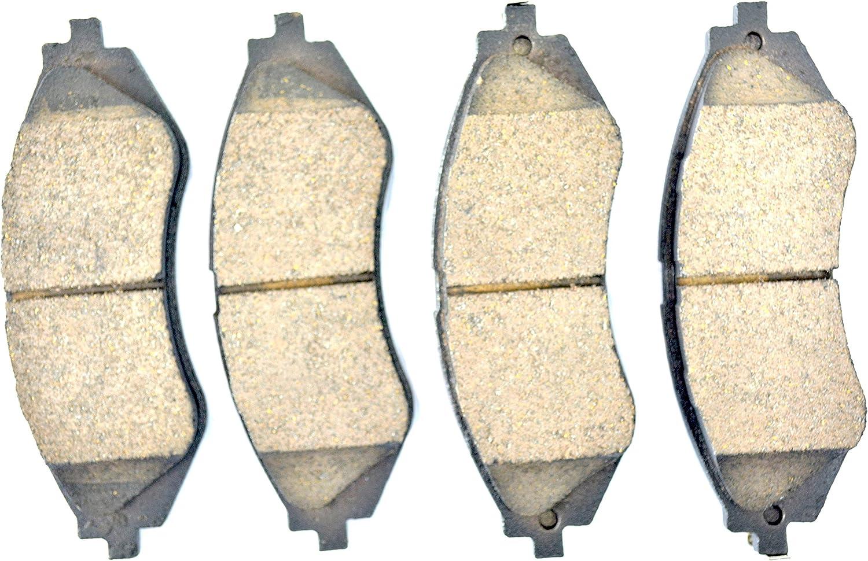 Dash4 MD1035 Semi-Metallic Brake Pad