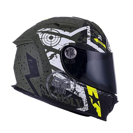 SUOMY SR Sport - Casco para Moto Integral, Multicolor (Stars Military), S