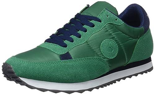 El Flamenco Zapatos Deporte Caballero Malla Verde, Zapatillas Hombre, 1, 43 EU: Amazon.es: Zapatos y complementos