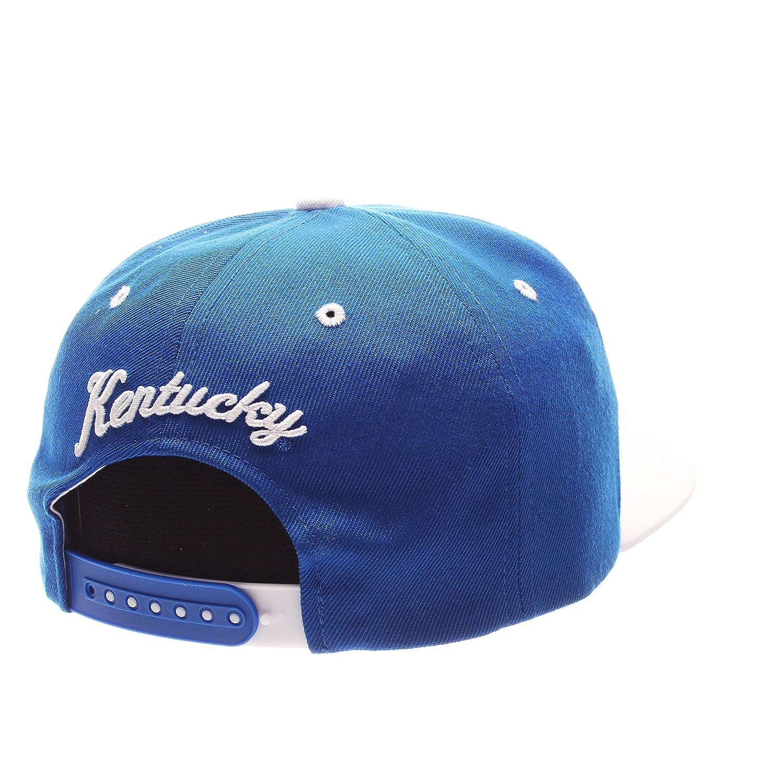 Zephyr Z11 6-Panel Superstar Snapback Cap NCAA ZHATS Flat Bill One Size Adjustable Baseball Hat