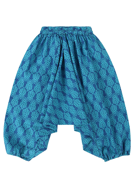aqua-t/ürkis Haremshose f/ür Kleinkinder aus Baumwolle
