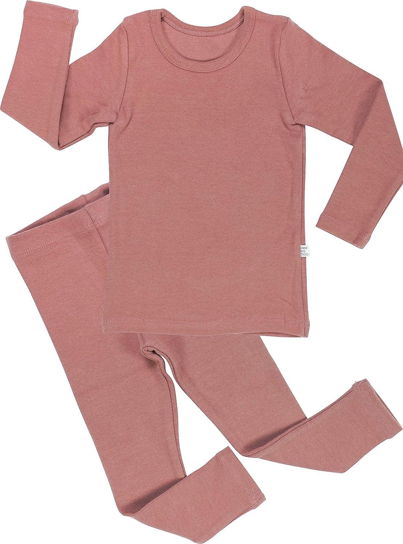 AVAUMA Baby Boys Girls Pajama Set Kids Toddler Snug fit Cotton Sleepwear