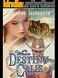 When Destiny Calls: A Western Time Travel Romance (The Destiny Series Book 1) (English Edition)