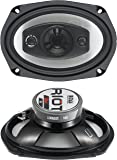 BOSS Audio R94 500 Watt (Per Pair), 6 x 9 Inch, Full Range, 4 Way Car Speakers (Sold in Pairs)
