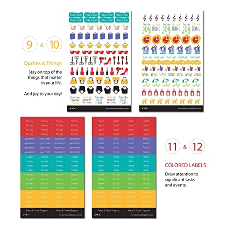 Date Night Planner//Diary//Scrapbooking Stickers Hand Drawn GlossyPaper