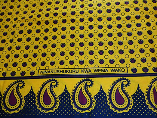 Telas africanas Kanga Khanga oliviasphones/Sarong/playa saresia ...