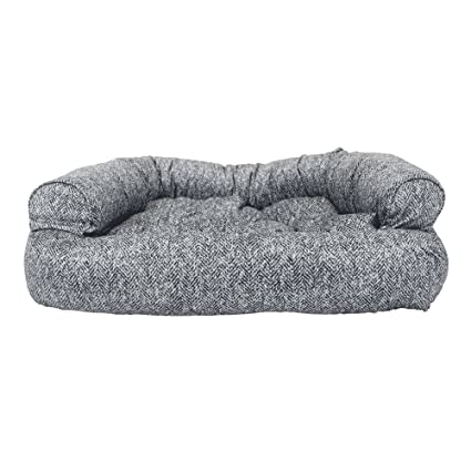 Amazon Com Snoozer Luxury Overstuffed Microsuede Pet Sofa Pet